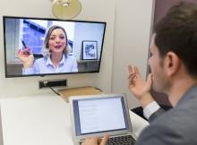 Skype Webcam Video Interview