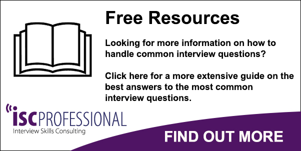 isc professional interview guide answers to common interview